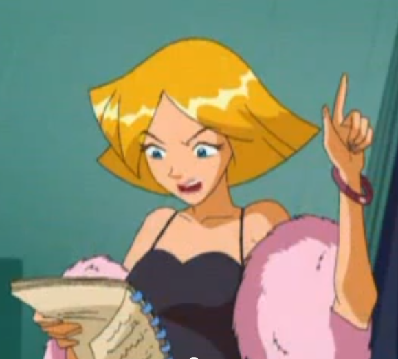 Image Clover Hold On Png Totally Spies Wiki Fandom