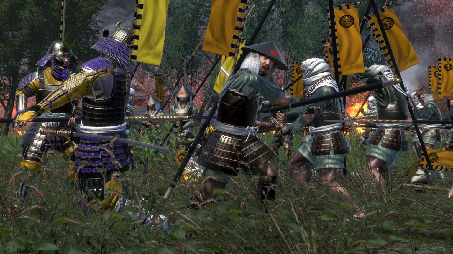 Oda Samurai Fighting Oda Yari Samurai