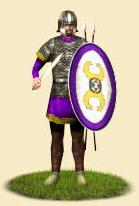 The roman army perfected the skills and experience in war