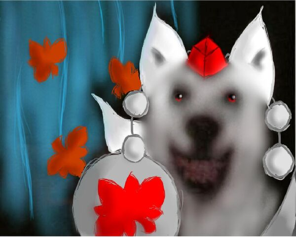 File:White smile dog.jpg