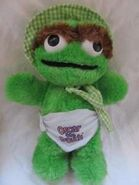 Baby Oscar the Grouch doll