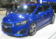Chevrolet Aveo RS concept front