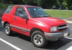 Chevrolet Tracker convertible