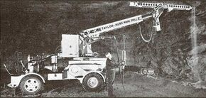 1953 Taylor Hydracrane Mining model