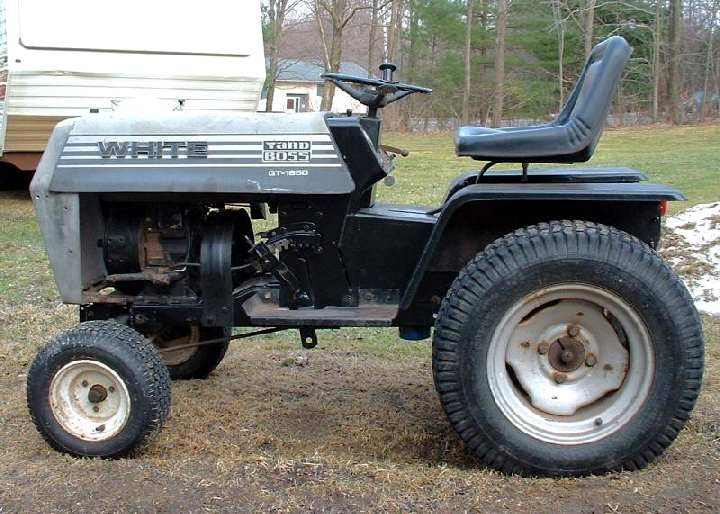 White Gt 1650 Yard Boss Tractor Amp Construction Plant