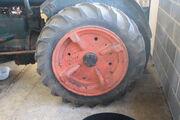Dunlop rear cast iron wheel IMG 4522