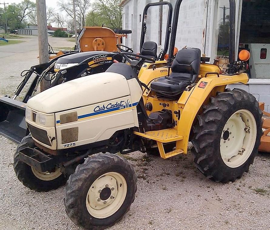Collector Cub Cadet Tractors : Cub cadet tractor construction plant wiki
