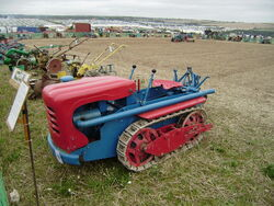 Ransomes MG40 with bonnet 1965