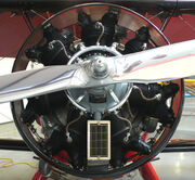 Radial engine WACO QCF2