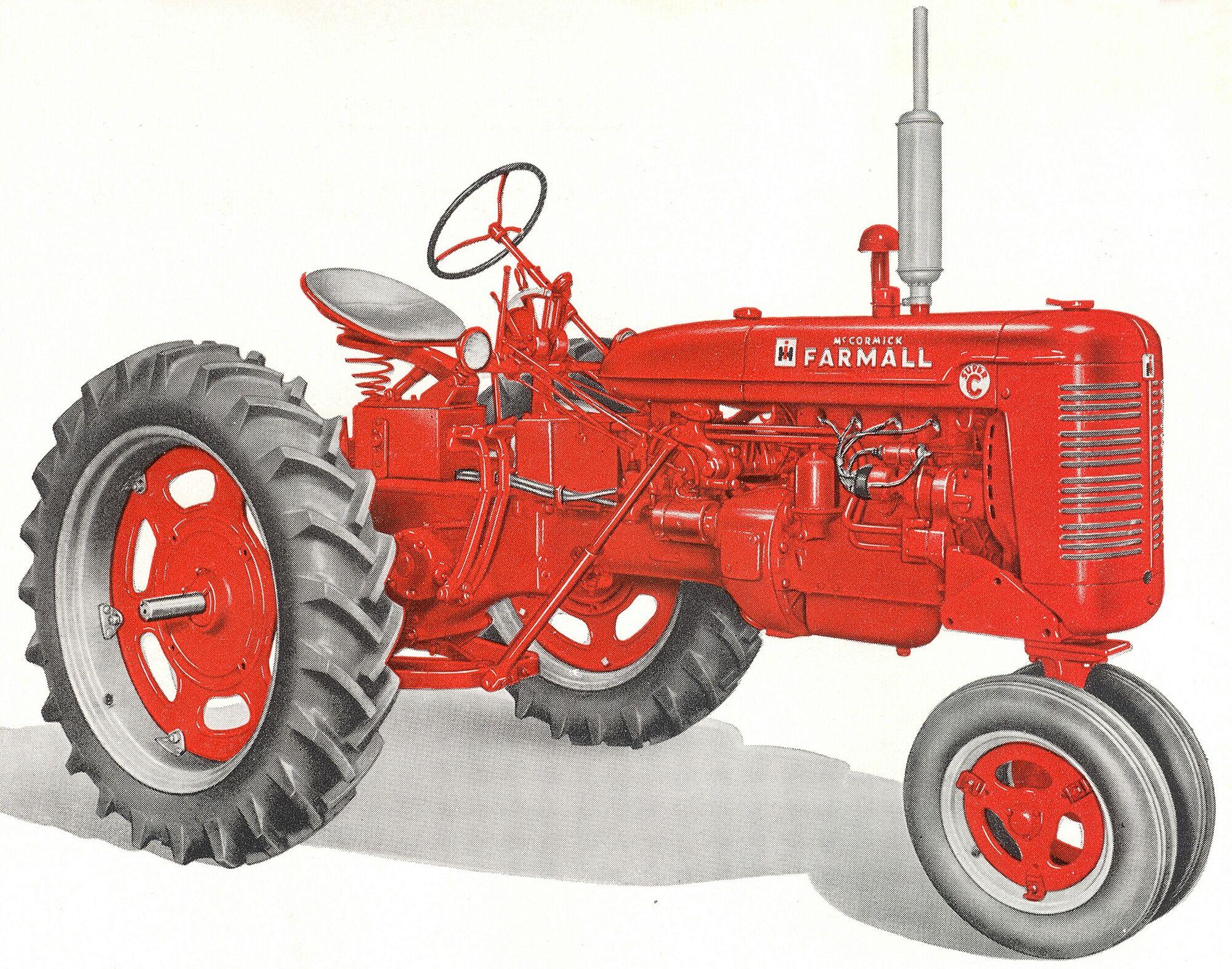 Farmall C Tractor : Farmall super c tractor construction plant wiki