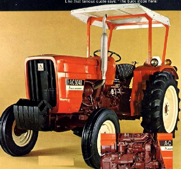 Allis-Chalmers 5040 | Tractor & Construction Plant Wiki | Fandom powered by Wikia