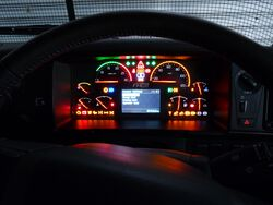 FH16 Mk2 dash display