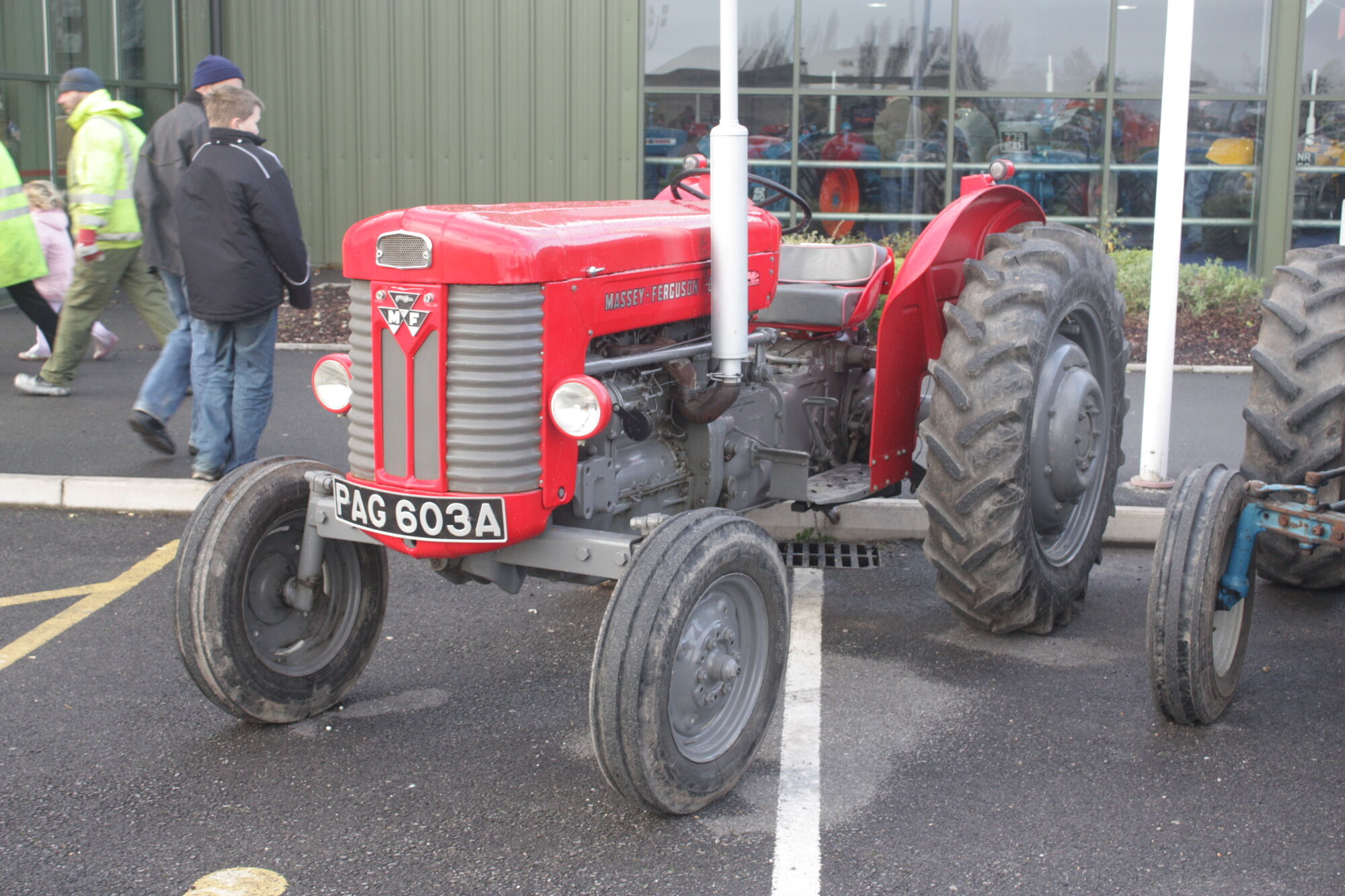 1958 Ferguson Tractor Attachments : Category model number tractor construction plant