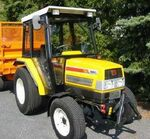 Iseki 5140 AL MFWD (yellow) - 1999