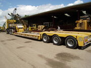 SE Davies tri-axle Nooteboom low loader - P6150196