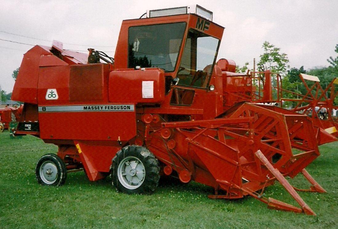 Massey Ferguson Combine Harvester Range Tractor