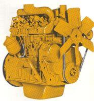 International TD-340 engine 1962