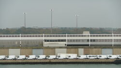 Ford Transit vans at Southampton Docks 2