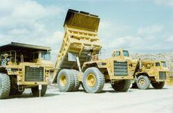 Cat 777B dump truck - SCAN0102