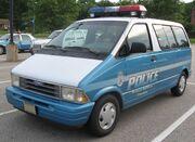 Ford Aerostar police