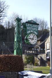 Leyland Motors Clock (Kendal) DSCF4397
