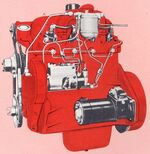 International BD-154 engine 1962
