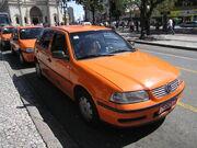 Taxi Curitiba Brasil