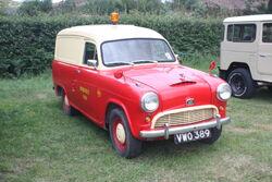Austin A55 van - VWO 389 at Astwoodbank 2011 - IMG 9123