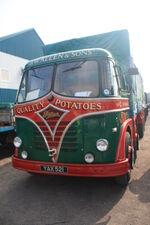 Foden S20 8x4 flat - YAX 521 at Donington CV 09 - IMG 6133