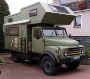Hanomag AL28 camper (expedition)