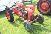 Coleby Cultivators tractor with JAP engine at Bawtry Vintage rally 09 - IMG 9443