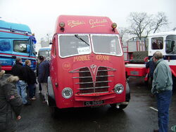 Foden CL 3660 at sandbach