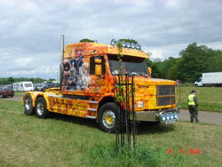 Scania Bonnetted and customised