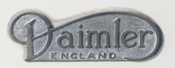 Daimler badge - IMG 1799