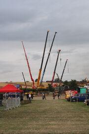Crane display at welland 2011 - IMG 8965