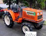 Hinomoto N179 MFWD (orange)