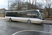 Lancashire United Optare Versa unfinished livery