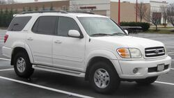 01-04 Toyota Sequoia Limited