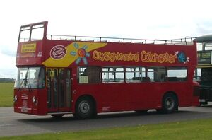 Leyland Atlantean AN68 ECW open topper