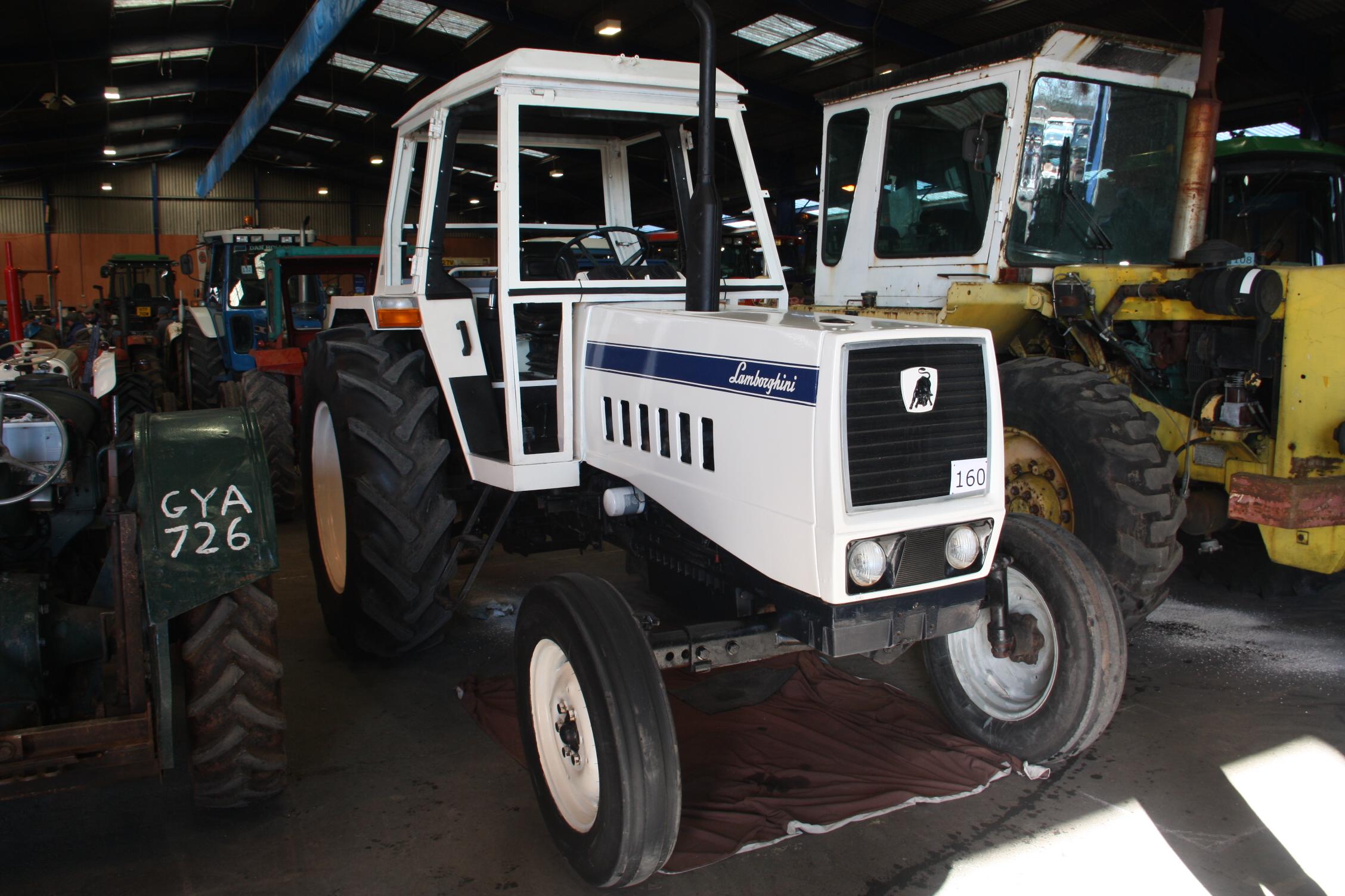 импортер lamborghini трактор