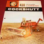 Cockshutt 430 combine brochure