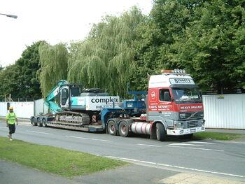 Bennett low loader