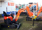 Kubota mini-digger at lamma 2011 - IMG 6310 edited