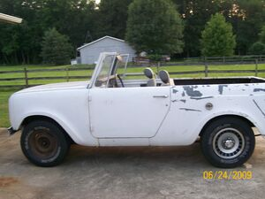 '69 scout unrestored
