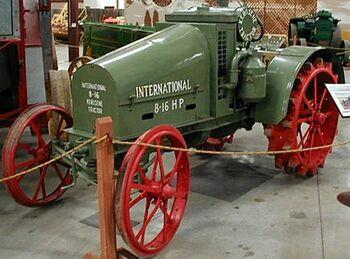 International 8-16 1921