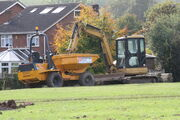 Benford PS3000 dumper CAT 304 digger - IMG 5003