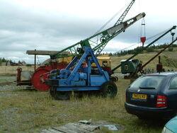 Ransomes and Rapier yard crane