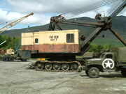 RB110 Excavtor side VET 2007