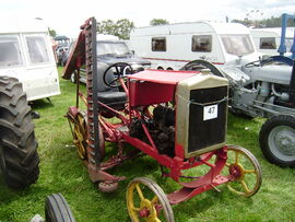Morris Bamlett mower conversion left