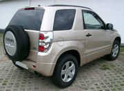 Suzuki Grand Vitara rear 20070902